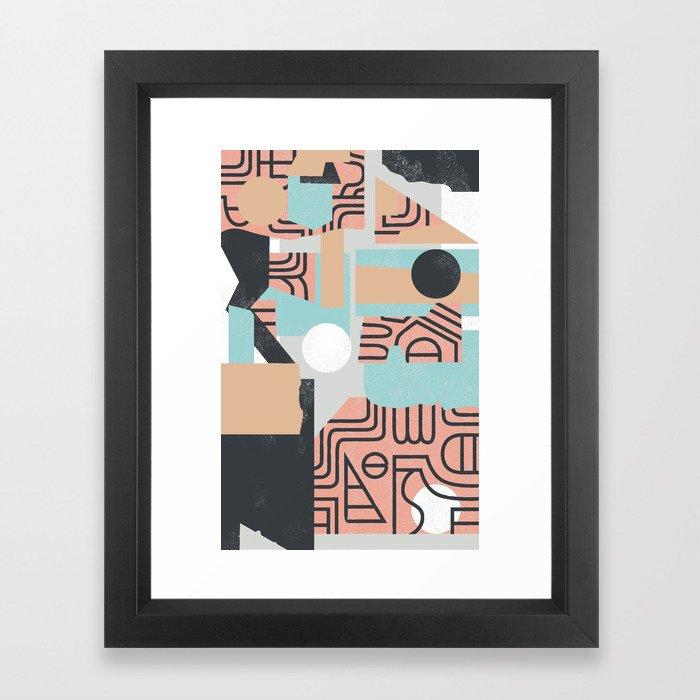 The Mole Framed Art Print