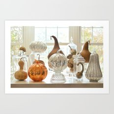 Oh My Gourd, Its Fall Art Print