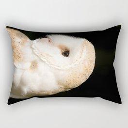 Barn Owl (Tyto alba) Rectangular Pillow