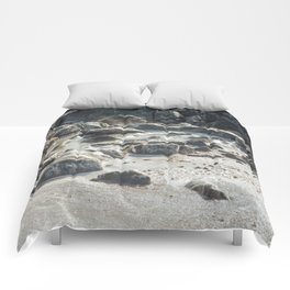 Ice Beach Winter Island Salem MA Comforters