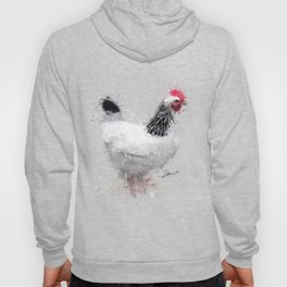 Light Sussex Hen Hoody