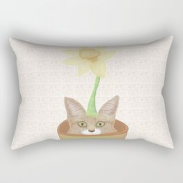 Tilly Flower Rectangular Pillow