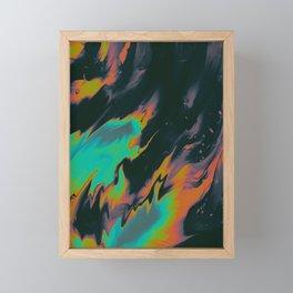 HOLD YOUR HAIR DEEP DEVOTION Framed Mini Art Print