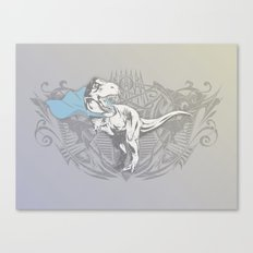 Fearless Creature: Rexy Canvas Print