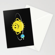 The Whole World Revolves Around Me Stationery Cards