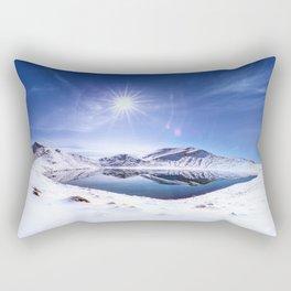 Blue Lake Rectangular Pillow