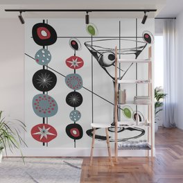 Mid-Century Modern Art Atomic Cocktail 3.0 Wall Mural