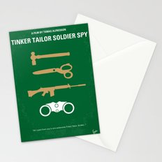 No787 My Tinker Tailor Soldier Spy minimal movie poster Stationery Cards