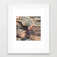 pulp Framed Art Prints featuring Pulp by Krupitsky Karma
