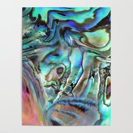 Abalone shell Poster