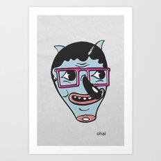 ohai! print Art Print