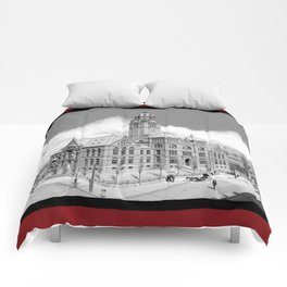 Historic Courthouse - Jefferson County Alabama - Birmingham Comforters
