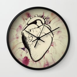 Sounds of my Heart Wall Clock