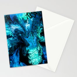 Passion turquoise 2 Stationery Cards