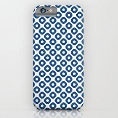 kanoko in monaco blue iPhone 6s Slim Case