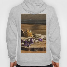 dry flowers and plants Hoody