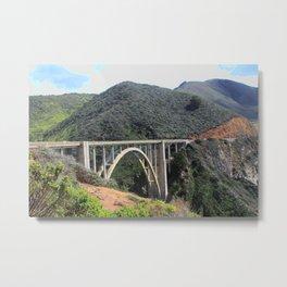 Look at the Bixby Bridge Metal Print