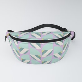 Lilac summer geometric Fanny Pack