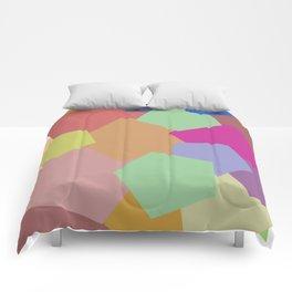 Colliding Colors Comforters