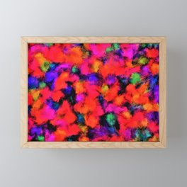 Bright Rainbow Colors Framed Mini Art Print