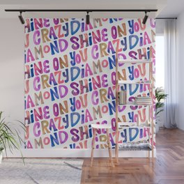 Shine On Your Crazy Diamond – Vintage Palette Wall Mural