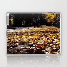 Central Park Leaves Laptop & iPad Skin