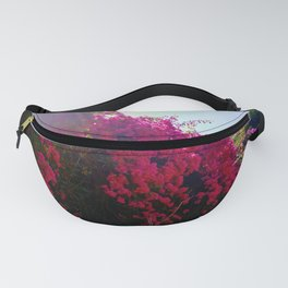 Bougainvillea Clouds Fanny Pack