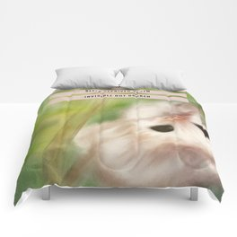 Funny Baby Sloth Reminds Fibromyalgia People to Take it Easy Comforters