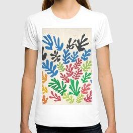 Leaf Cutouts by Henri Matisse (1953) T-shirt
