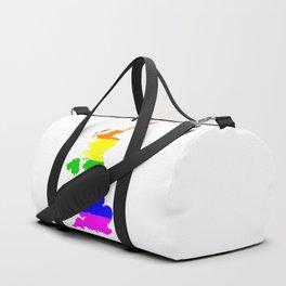 United Kingdom Gay Pride Flag Duffle Bag