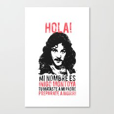 Inigo Montoya Canvas Print