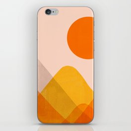 Abstraction_Mountains_02 iPhone Skin