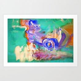 Vaporwave Portal Art Print