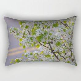 Blossoms on Third Avenue Rectangular Pillow