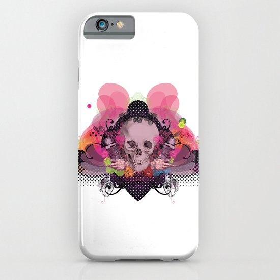 Skull Rainbow iPhone & iPod Case