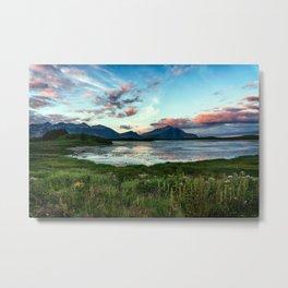 The East Fjords Metal Print