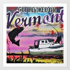 Get Hooked Art Print
