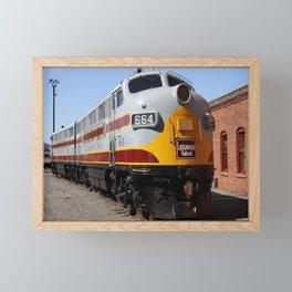 Lackawanna Railroad - Engine 664 Framed Mini Art Print