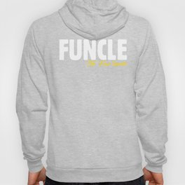 Mens Best  Funcle Humorous Cool Definition Funny Uncle Present Hoody