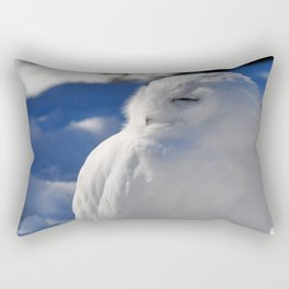 Snowy in the Snow by Teresa Thompson Rectangular Pillow