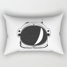 Cosmonaut helmet Rectangular Pillow