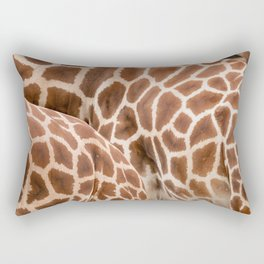 Abstract giraffe picture Rectangular Pillow