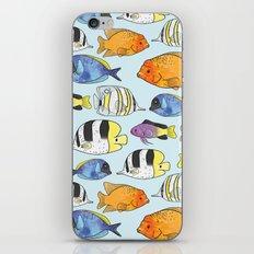 Fish Pattern iPhone & iPod Skin