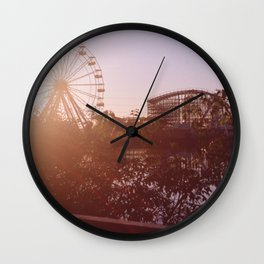 New Orleans Six Flags Jazzland Wall Clock