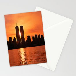 Twin Towers Summer Sky Stationery Cards