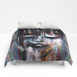 Paint a Gril Comforters