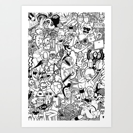 The Arts Art Print