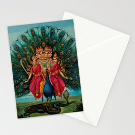 Hindu Art Stationery Cards