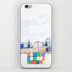 The Cube at Maroubra Beach iPhone & iPod Skin