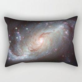 Barred spiral galaxy Rectangular Pillow